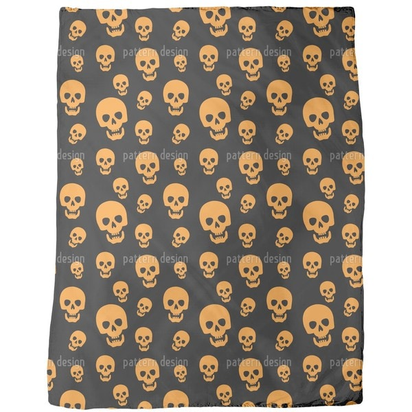 Skull Vision Fleece Blanket