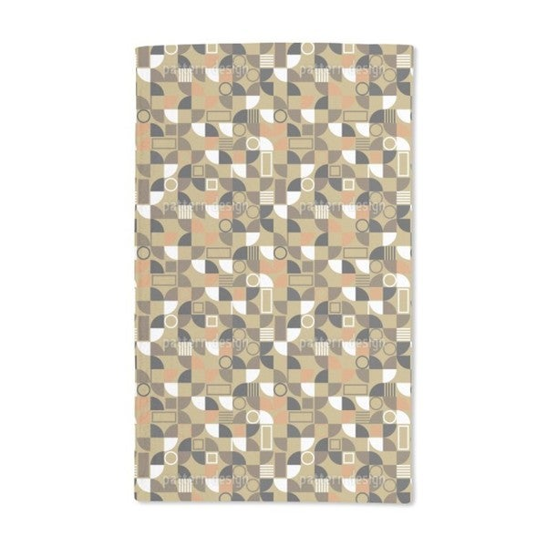 Mosaic Fragments Hand Towel (Set of 2)