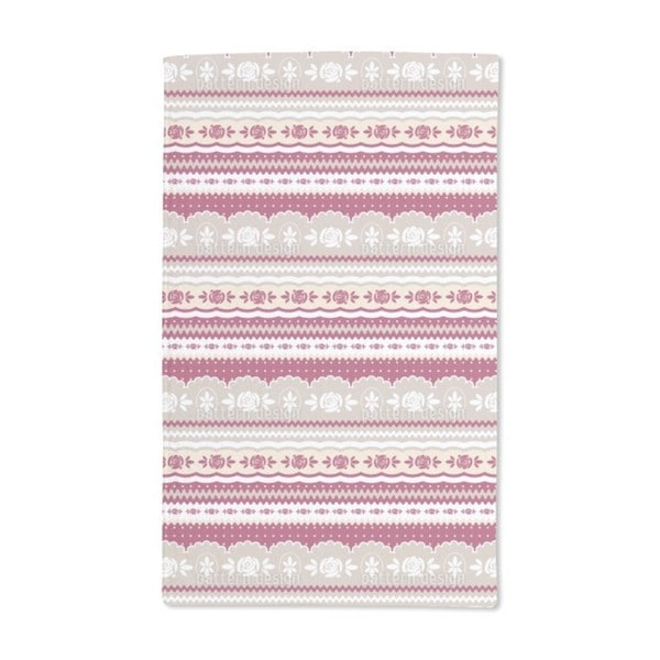 Mamas Little Rosy Hand Towel (Set of 2)