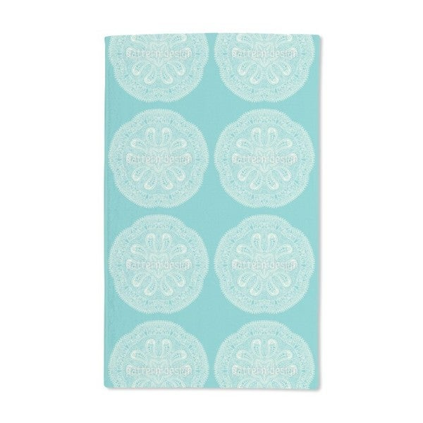 A Cool Touch of Doily Hand Towel (Set of 2)