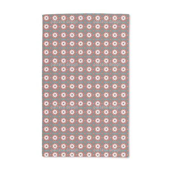 Christmas Star Hand Towel (Set of 2)