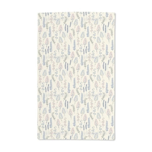 Ivory Garden Hand Towel (Set of 2)