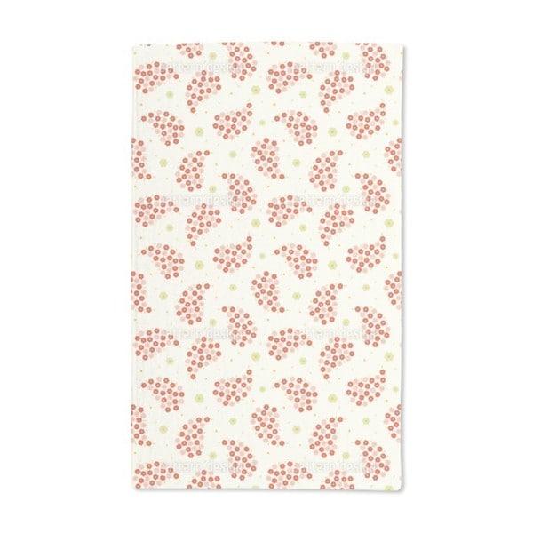 Mini Flowers Hand Towel (Set of 2)