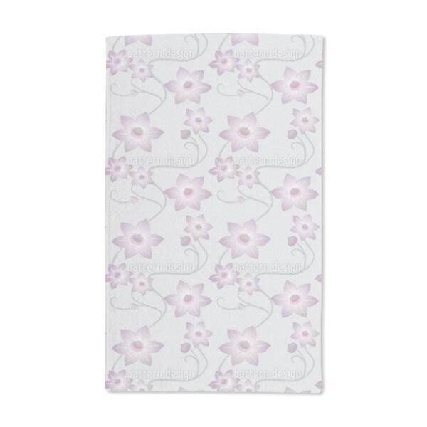Gentle Clematis Hand Towel (Set of 2)