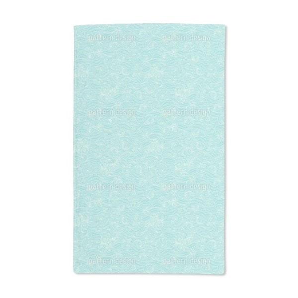 Lagoon Swell Hand Towel (Set of 2)