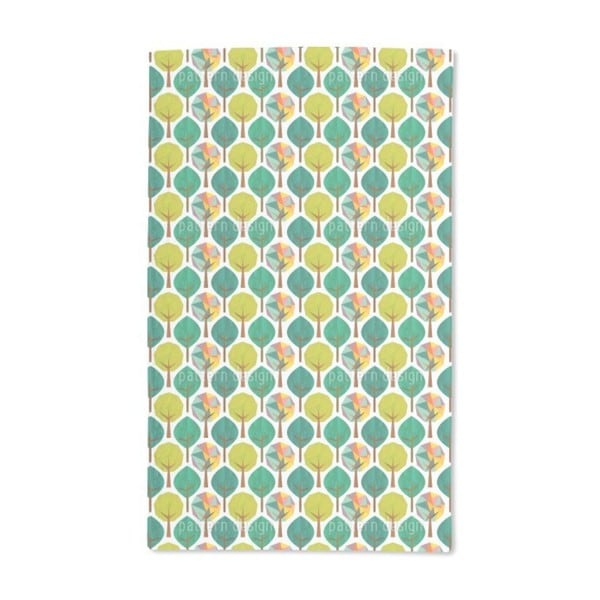 Geometric Trees Hand Towel (Set of 2)