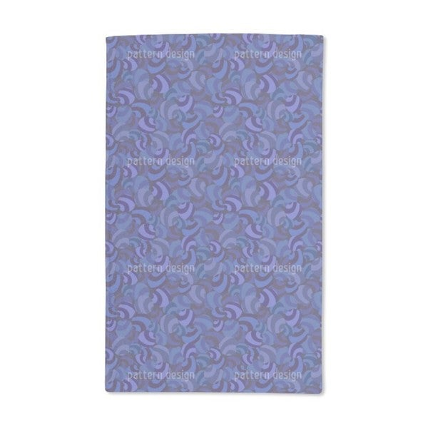 Candy Crush Blues Hand Towel (Set of 2)