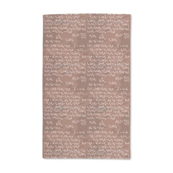 Chemical Formula Hand Towel (Set of 2)