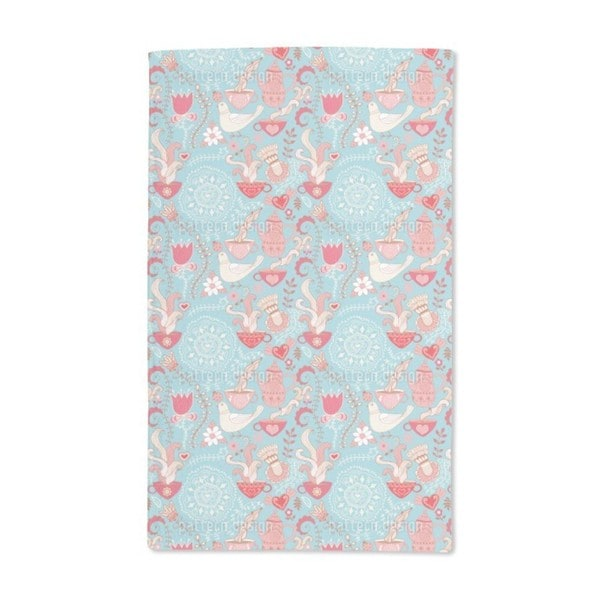 Tea Party Hand Towel (Set of 2)
