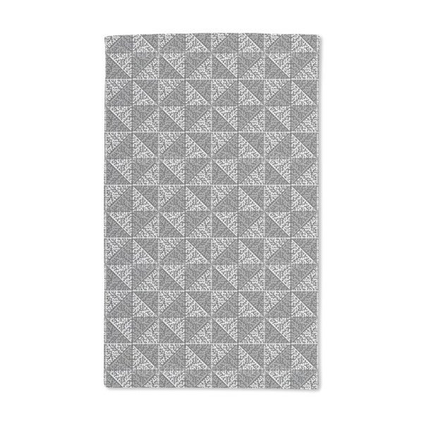Check Reef Hand Towel (Set of 2)