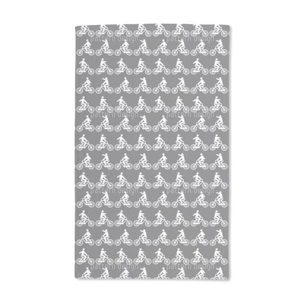 To Ride a Bike Hand Towel (Set of 2)