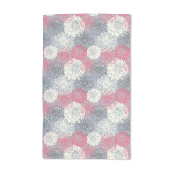 Bohemia Dahlia Hand Towel (Set of 2)