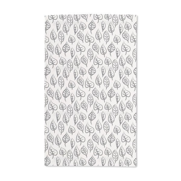 Brush Leaves Hand Towel (Set of 2)