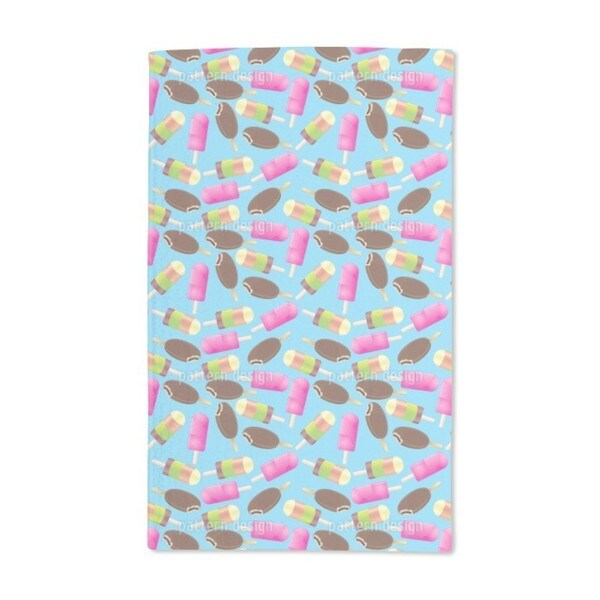 Ice Lollies Hand Towel (Set of 2)