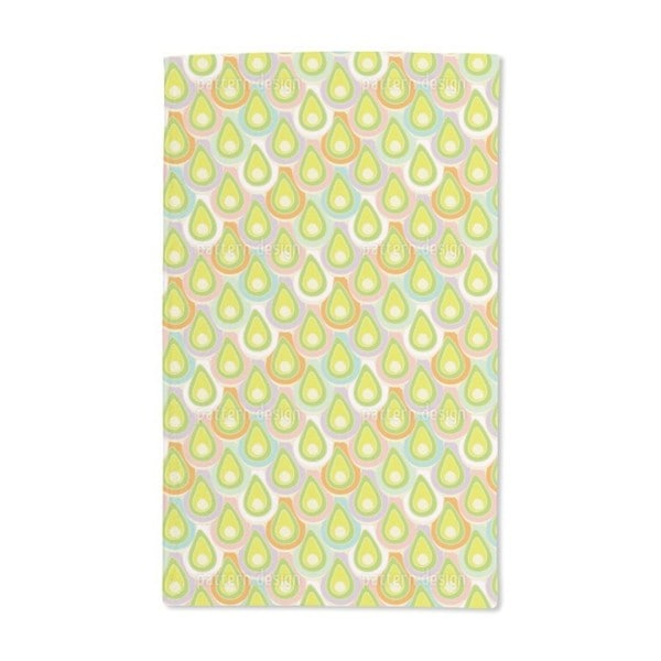 Abstract Scales Hand Towel (Set of 2)