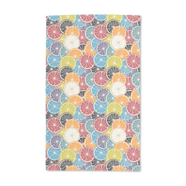Lemon Cocktail Hand Towel (Set of 2)