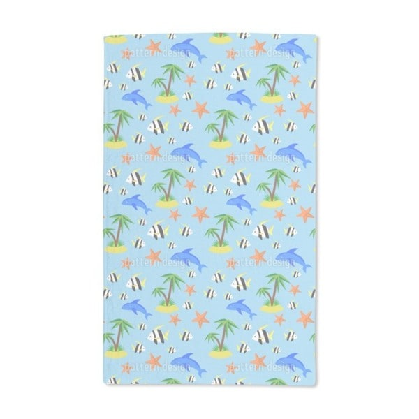 Tropical Island Hand Towel (Set of 2)