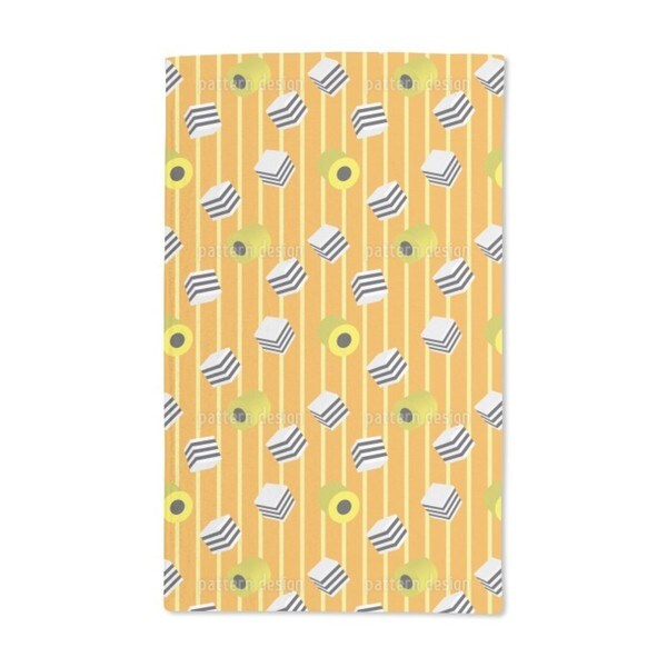 Liquorice Mix Hand Towel (Set of 2)