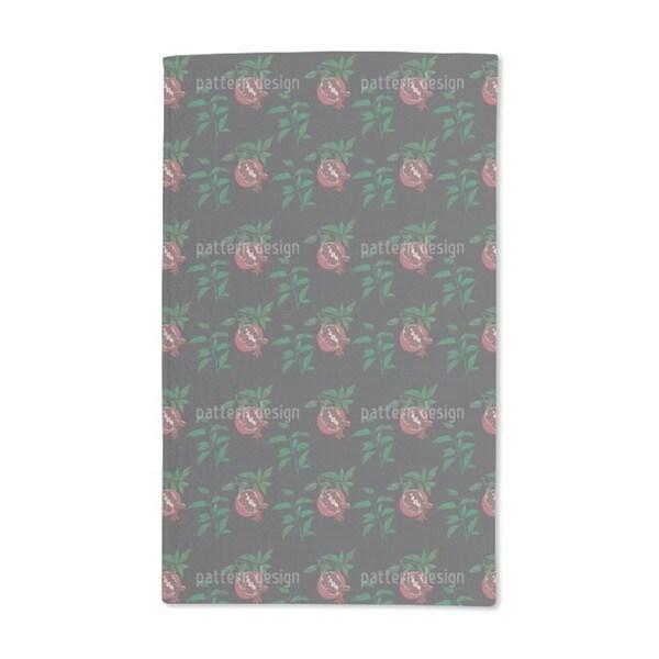 Sensual Pomegranate Hand Towel (Set of 2)