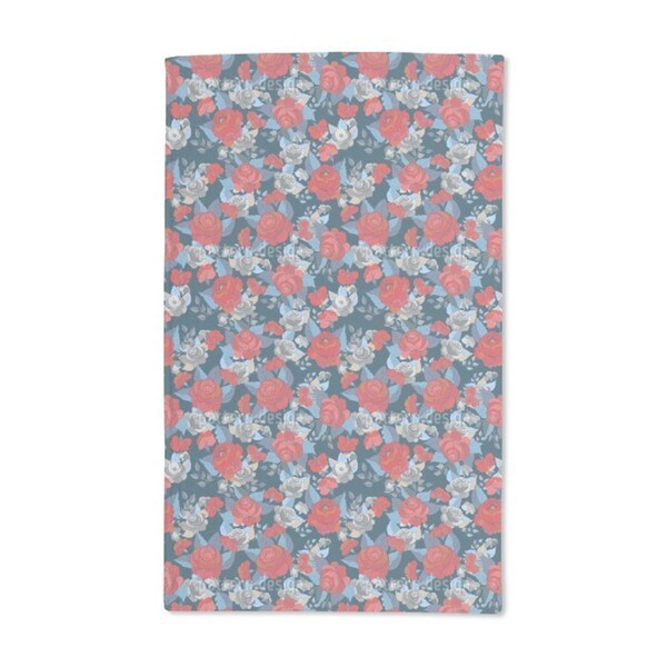 The Rose Collection Hand Towel (Set of 2)