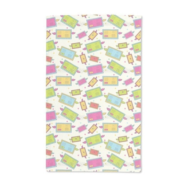 Funny Correspondence Hand Towel (Set of 2)