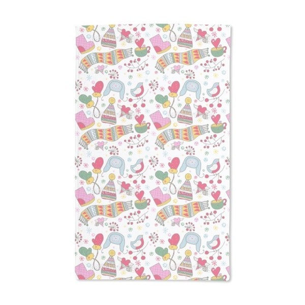 We Love the Cold Winter Hand Towel (Set of 2)