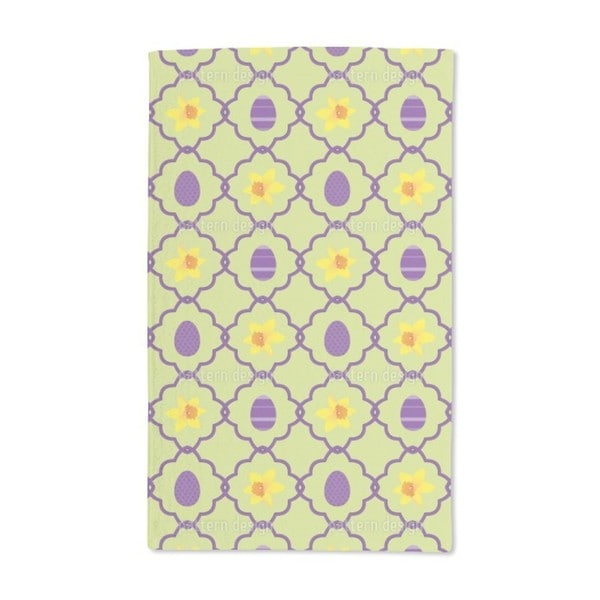 Easter Daffodils Hand Towel (Set of 2)
