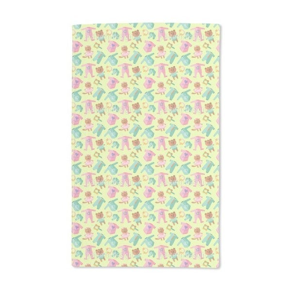 Baby Clothes and Toys Hand Towel (Set of 2)