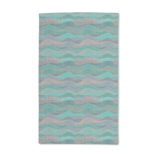 The Myth of the Waves Hand Towel (Set of 2)