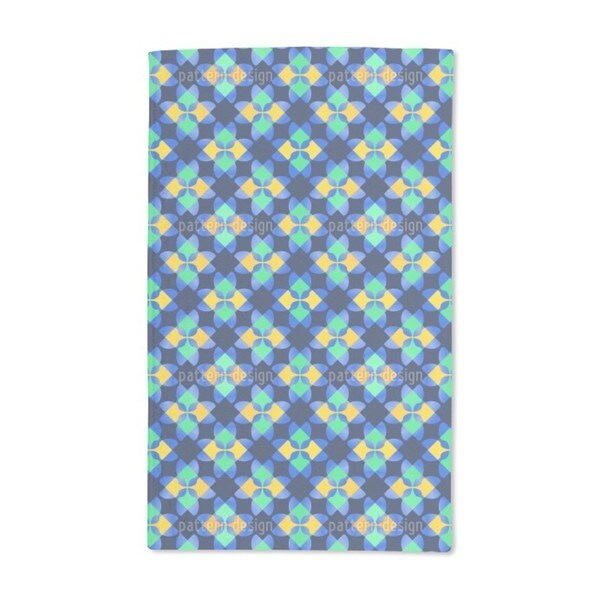 Square Mosaic Hand Towel (Set of 2)