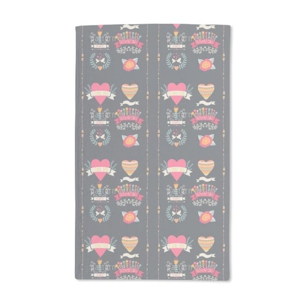 Every Day Is Valentines Day Hand Towel (Set of 2)