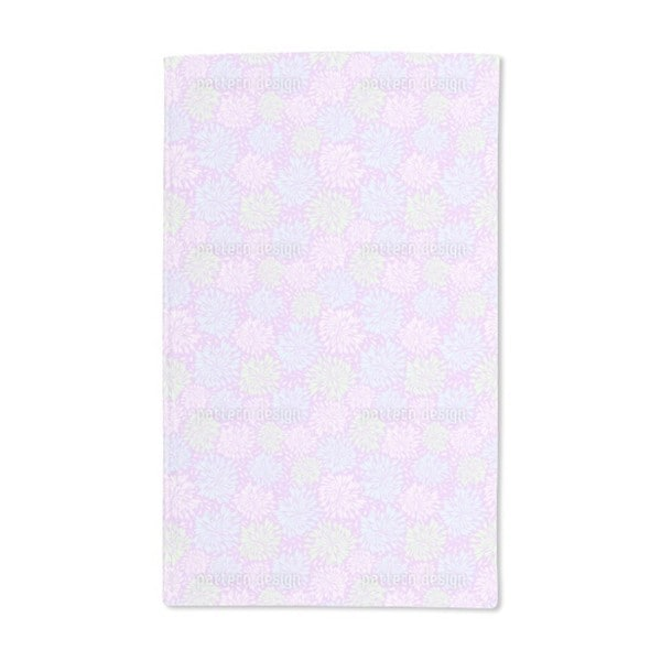 Chrysanthemum Firework Hand Towel (Set of 2)