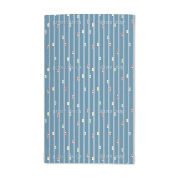 Tiny Highway Hand Towel (Set of 2)