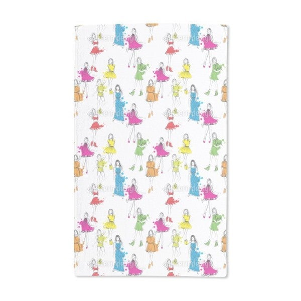 Fashion Victim Hand Towel (Set of 2)