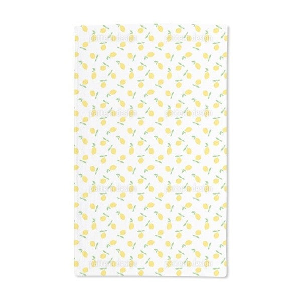 Lemon Fruit Hand Towel (Set of 2)