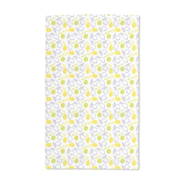 Citrus Fruits Hand Towel (Set of 2)