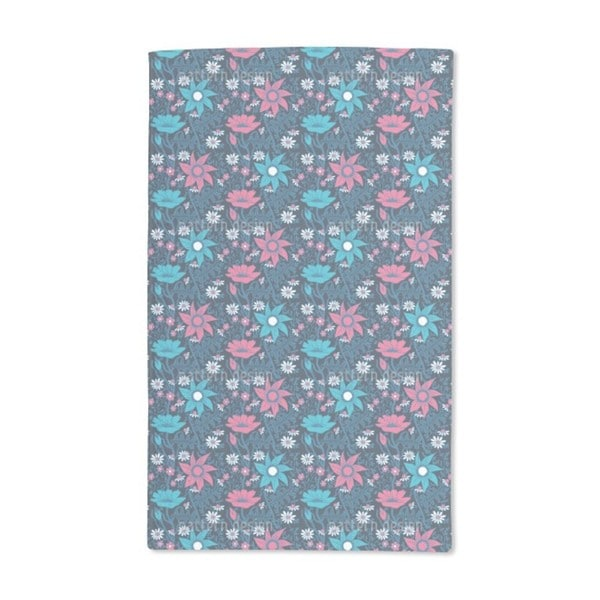 Flowers in the Nightshade Hand Towel (Set of 2)