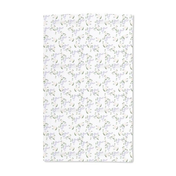 Forget Me Not Daisy Hand Towel (Set of 2)