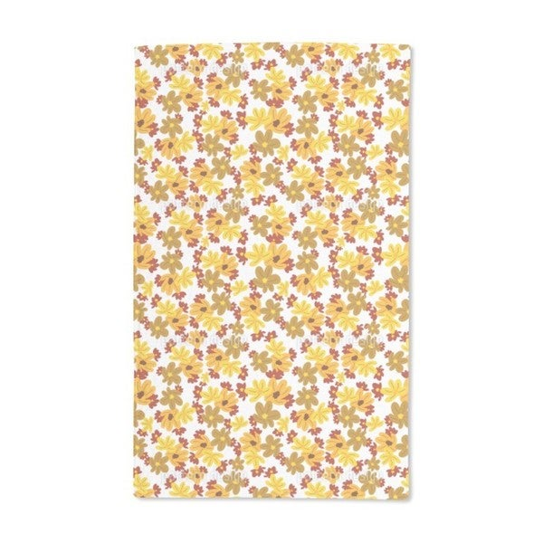 The Flowers Fall Hand Towel (Set of 2)