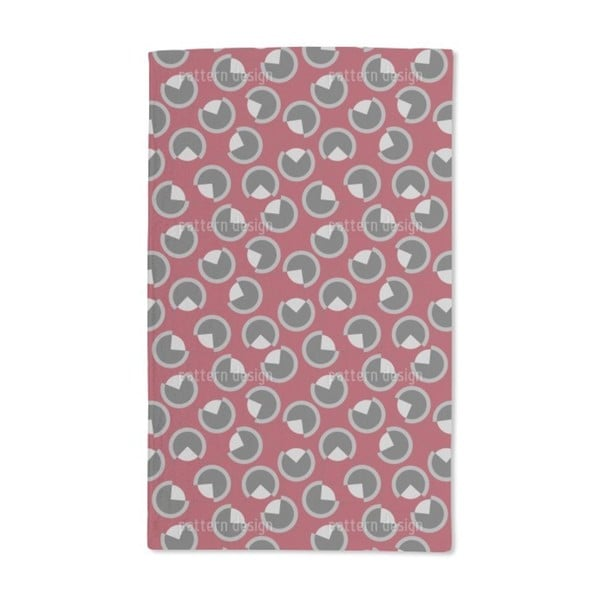 Three-Quarter Circles Hand Towel (Set of 2)