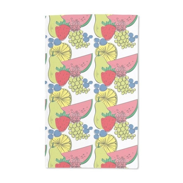 Fruit Cocktail Hand Towel (Set of 2)