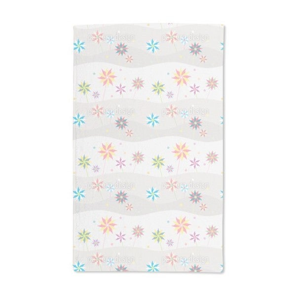 Wind Wheels on Vacation Hand Towel (Set of 2)