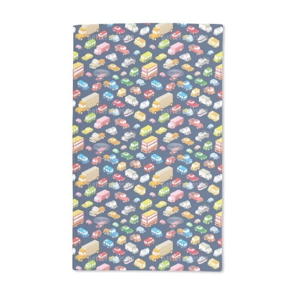 Urban Traffic Hand Towel (Set of 2)