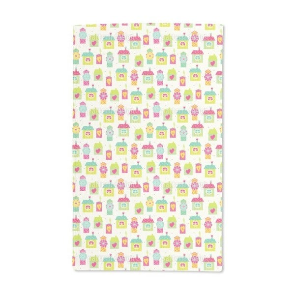 Homes Sweet Homes Hand Towel (Set of 2)