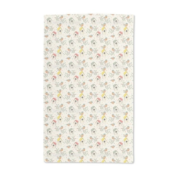 Bird House Hand Towel (Set of 2)