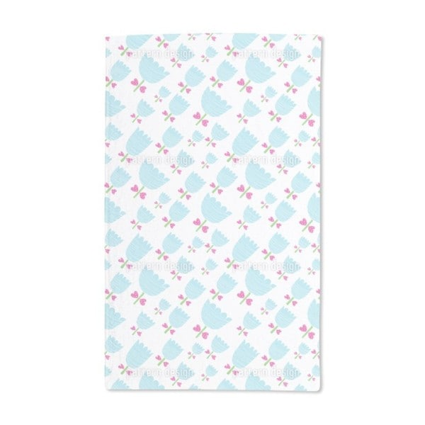 Baby Tulips Hand Towel (Set of 2)
