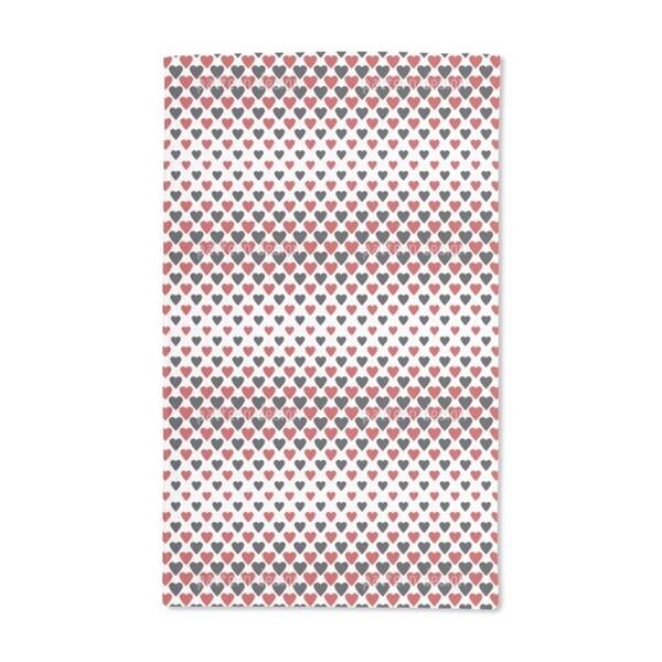 Heart Queens Hand Towel (Set of 2)