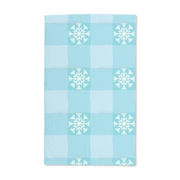 Winter Tartan Hand Towel (Set of 2)