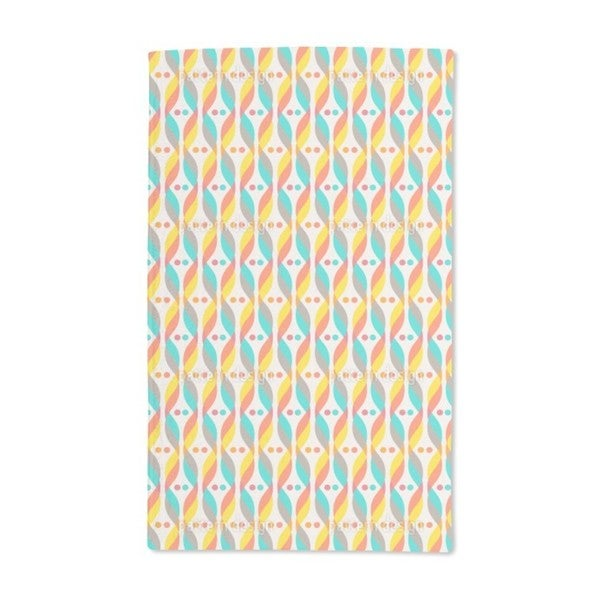 Retro DNA Hand Towel (Set of 2)