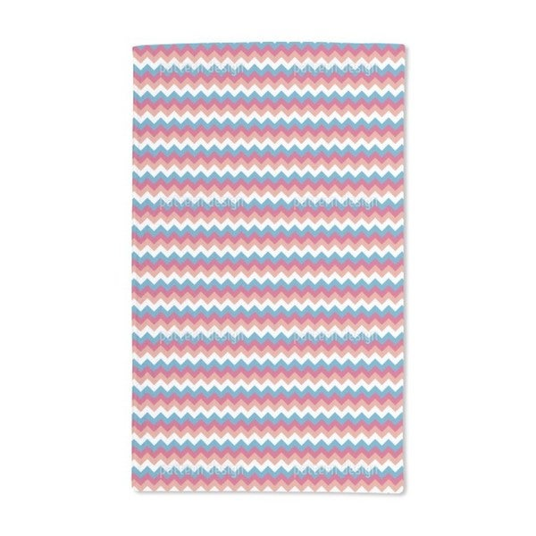 A Lot of Zigzag Hand Towel (Set of 2)